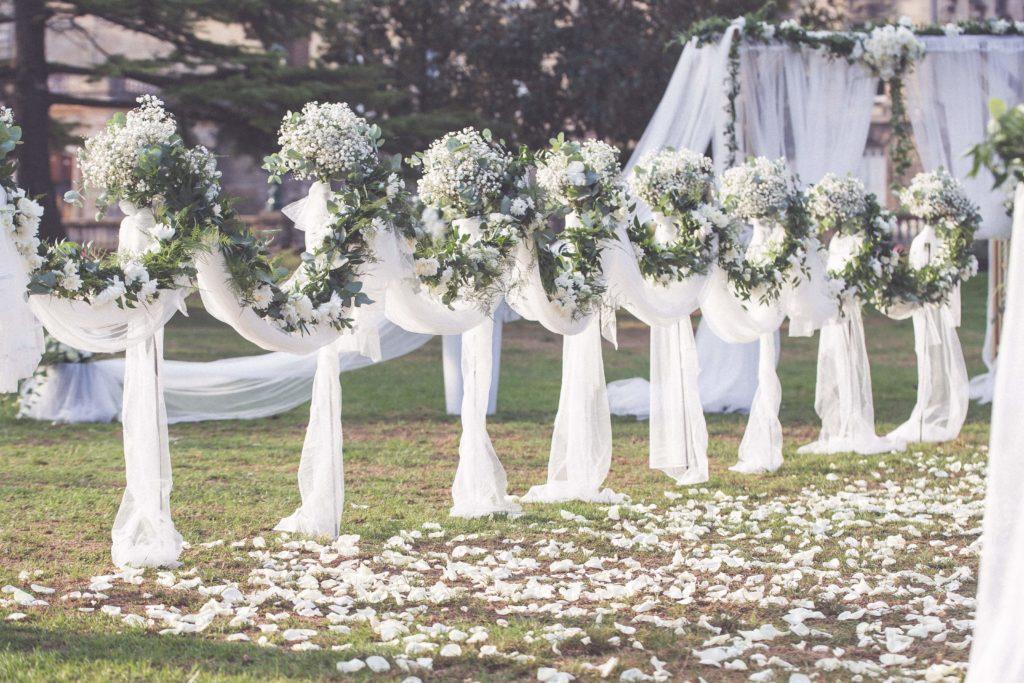 Le gypsophile dans votre décoration de mariage