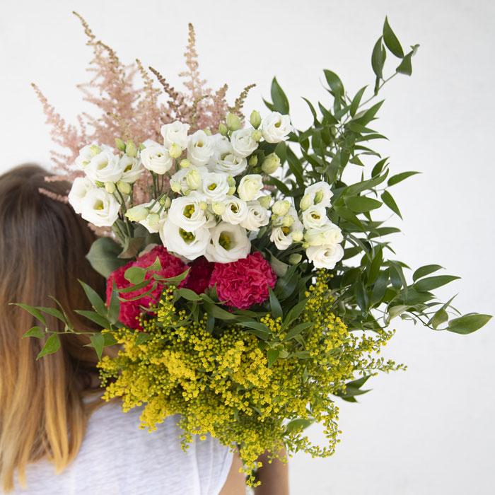 Bouquet de fleurs fraîches printanier